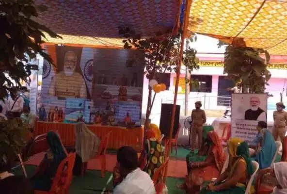 बांदा: PM मोदी ने बबेरू के ग्राम प्रधान से किया वर्चुअल संवाद, महिलाओं से पूछा क्या हुआ बदलाव
