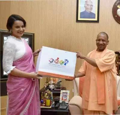 यूपी सरकार ने बनाया ओडीओपी का ब्रांड एम्बेसडर फिल्म अभिनेत्री कांगना रनौत को