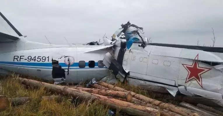 रूस के ततारस्तान : भीषण विमान हादसे में 16 लोगों की मौत, 7 लोग घायल