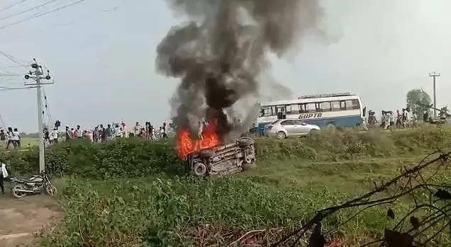 UP के लखीमपुर किसानों पर गाड़ी चढ़ाने का मुख्य आरोपी मंत्री का बेटा आज हो सकता है गिरफ्तार,पूछताछ के लिए बुलाया गया