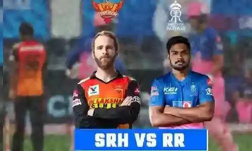 IPL 2021 SRH vs RR सनराइजर्स हैदराबाद बनाम राजस्थान रॉयल्स का मैच आज