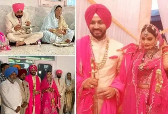 पंजाब: मोहाली में हुआ सीएम के बेटे का विवाह, खुद गाड़ी चला करपहुंचे चरणजीत सिंह चन्नी