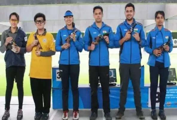 निशानेबाजी : जूनियर विश्व चैंपियनशिप में भारतीय निशानेबाजों ने 17 स्वर्ण सहित जीते 43 पदक