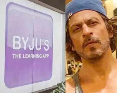 बायजूस ने शाहरुख के विज्ञापनों पर अस्थायी रूप से लगाई रोक :आर्यन ड्रग केस