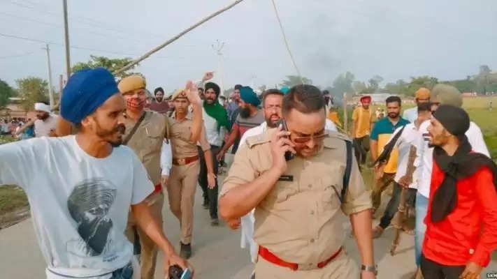 यूपी: लखीमपुरी खीरी में विरोध प्रदर्शन के दौरान 2 किसानों समेत 5 की मौत