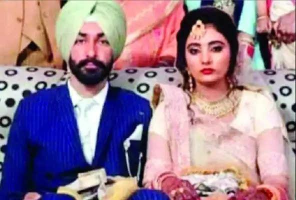 शाहजहांपुर पहुंचा शहीद सारज सिंह का शव, पैतृक गांव अख्तयारपुर धौकल में होगा अंतिम संस्का